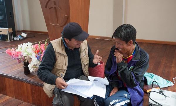 16137BO-F: youth ministry in Chuma, Bolivia